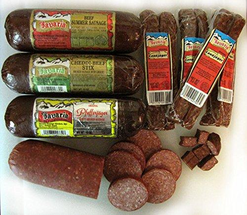 Bavaria Snacking Sausage Gift - Sampler Meat