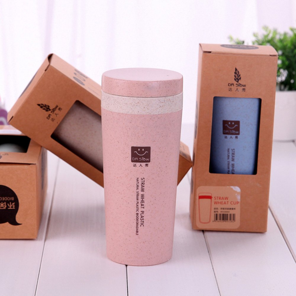 SHAWE - Taza para café de doble pared con aislamiento de vacío para viaje, casa y oficina, muy ligera de 120 g, botella de agua deportiva, ...