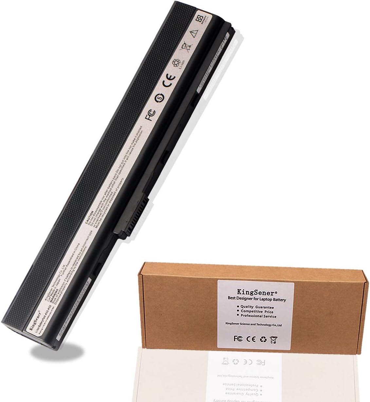 Kingsener Laptop Battery for Asus A31-K52 A41-K52 A32-K52 A42-K52 A52 A52F A52J K42 K42F K42J K52 K52J K52JC K52JE X52F X52J 10.8V 4400mAh