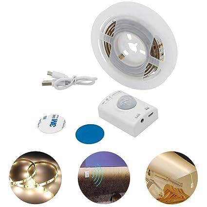 LED Cuerpo Humano Inteligente Tira De Iluminación por Inducción De La Cama De La Cama Armario