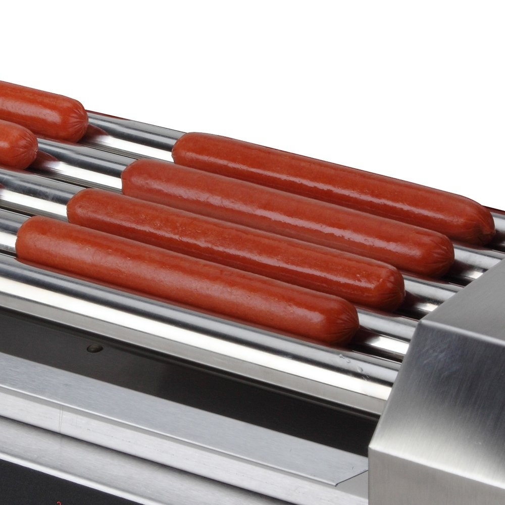 RollerDog Big 18 Stainless Steel Hotdog Roller with Drip Tray (RK4749K) by Roller Dog