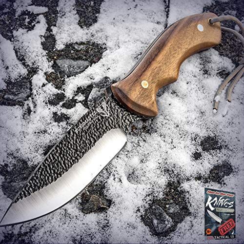 """New Cool Bushmaster Bushcraft Wood Hunting Survival Carbon Steel Fixed Blade Pro Tactical Elite Knife for Home Camping Hunting Rescue + free Ebook by ProTactical""""US"""