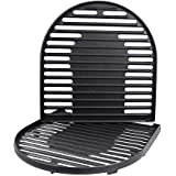 Uniflasy Cast Iron Grill Cooking Grates for Coleman Roadtrip Swaptop Grills LX LXE LXX, 2 Pack