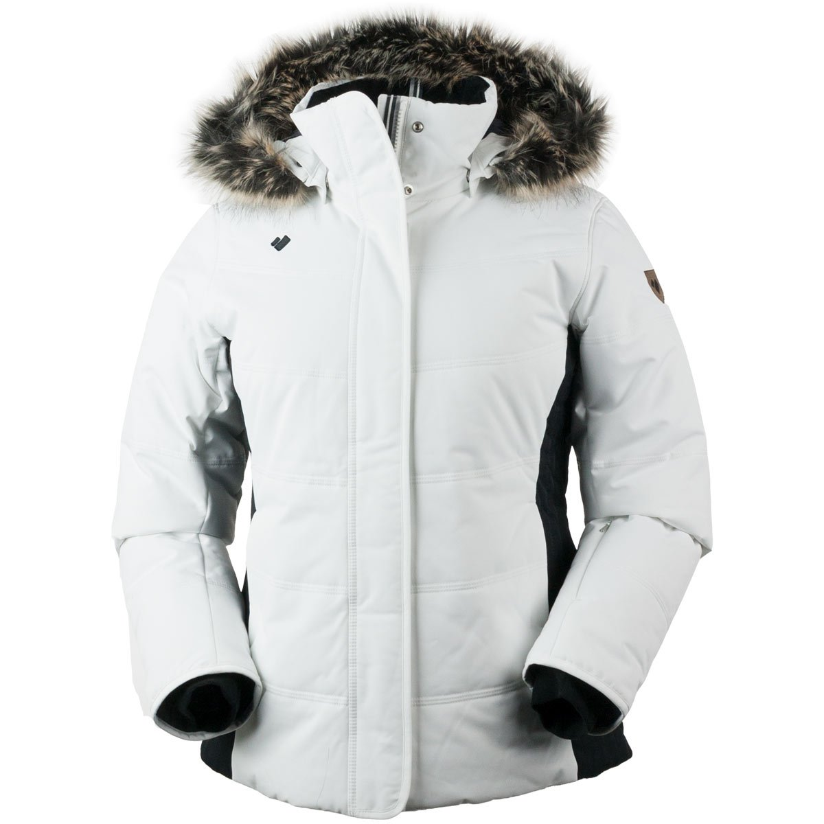 Obermeyer Women's Tuscany Jacket White 8P by Obermeyer
