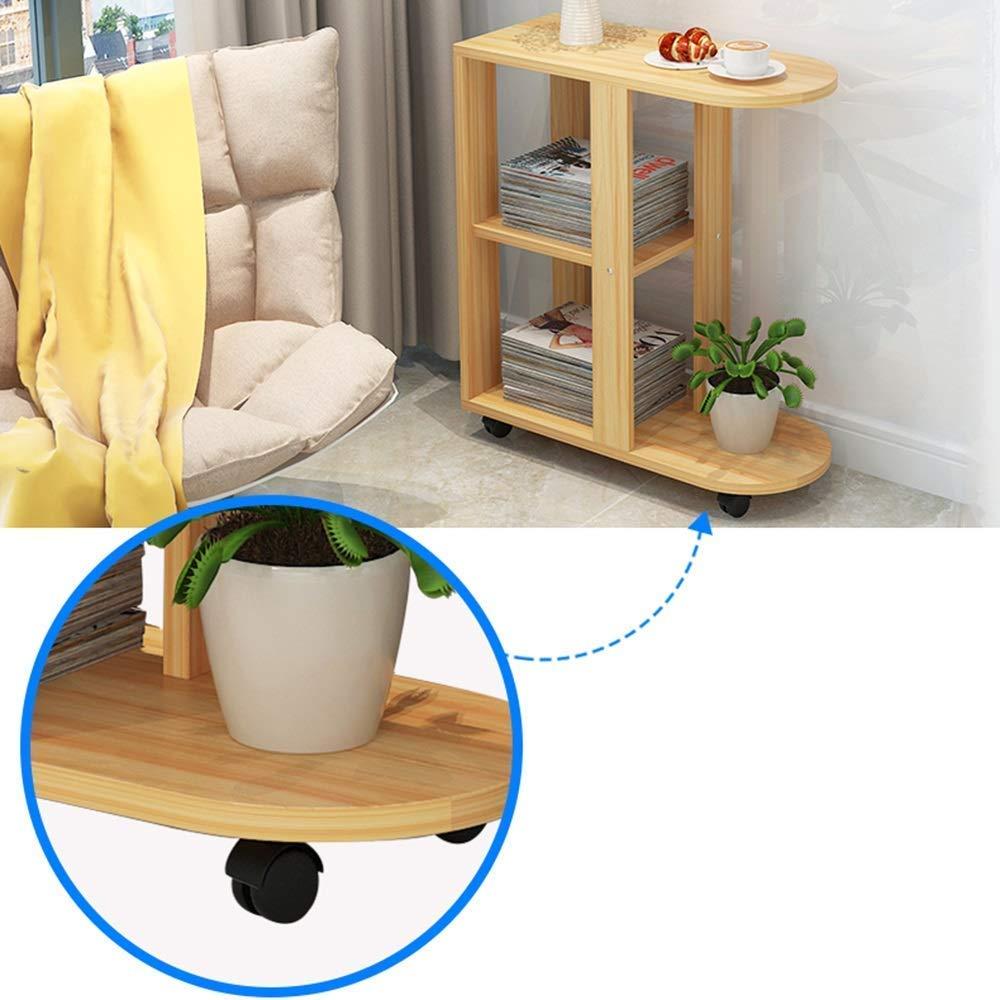 JTWJ Sofá Lateral Mueble Sala de Estar pequeña Mesa de café ...