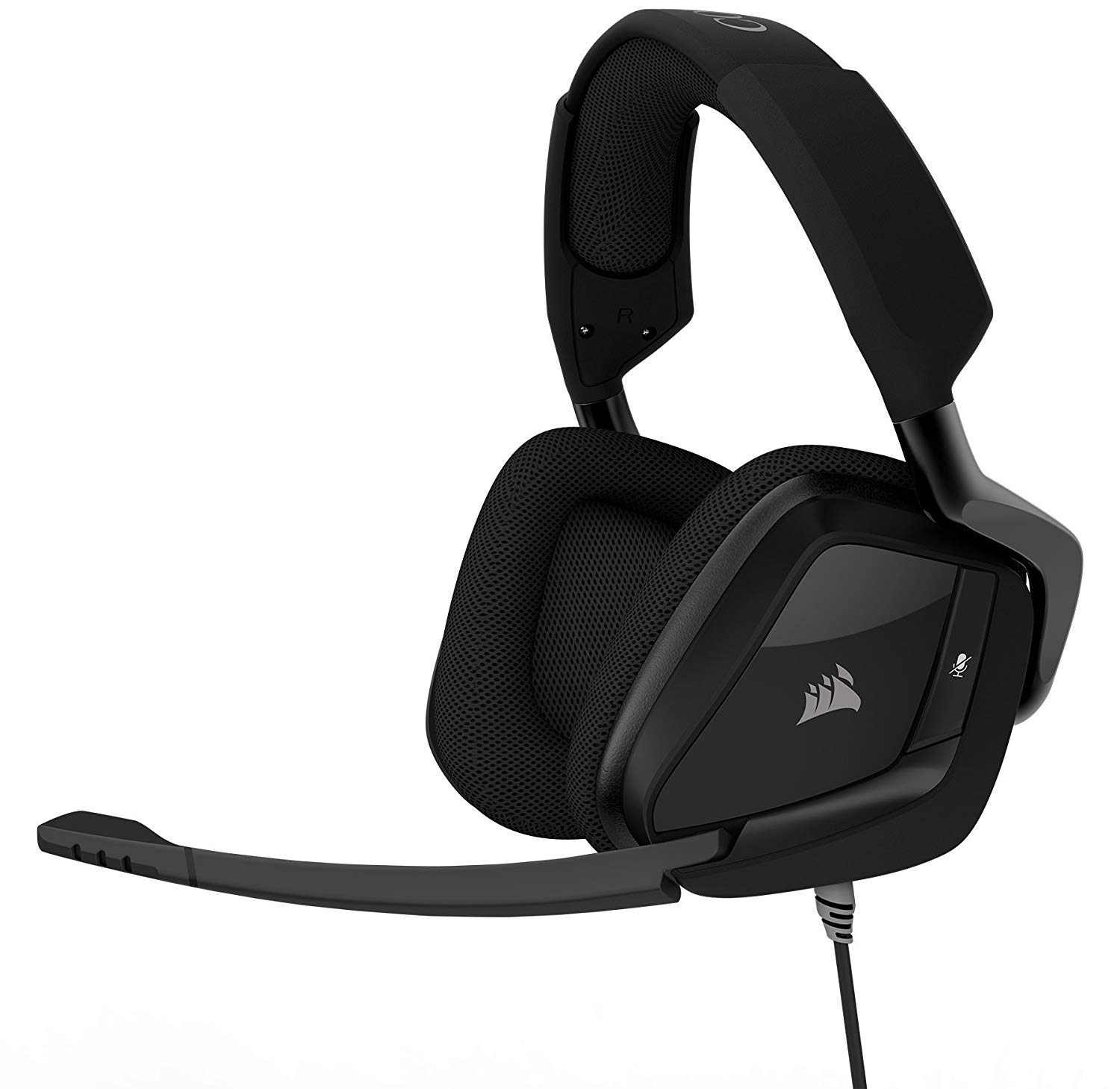 CORSAIR Void PRO Surround Gaming Headset - Dolby 7.1 Surround Sound Headphones for PC - Works with Xbox One, PS4, Nintendo Switch, iOS and Android - Carbon by Corsair
