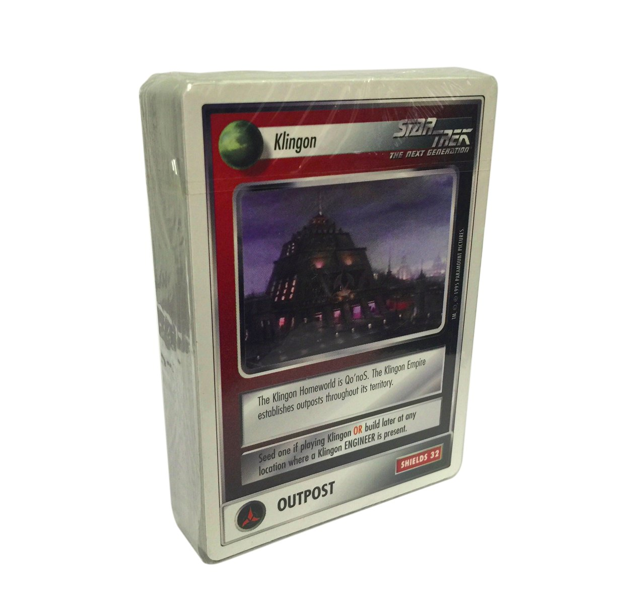 Star Trek CCG 1E Official Tournament Sealed Deck Promo Cards sealed pack only