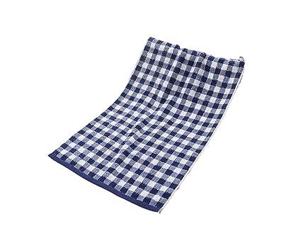 SUPRERHOUNG Enrejado de algodón Lavado Adulto Toalla para la Cara Pareja Toalla Limpiar Las Manos Toalla