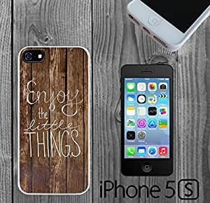 Cute Quote Enjoy Custom made Case/Cover/Skin FOR iPhone 5/5s