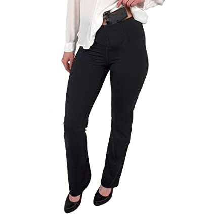 104d85e2528f3 UnderTech UnderCover Women's Concealed Carry Bootcut Leggings in Black  (3X-Large, right)