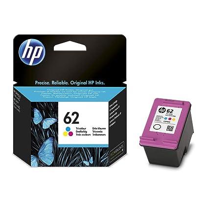 Original HP C2P06AE / Nr 62 tinta (Color, aprox. 165 Páginas) para ...