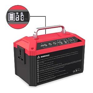 Iseebiz 178Wh AC出力100W ポータブル電源