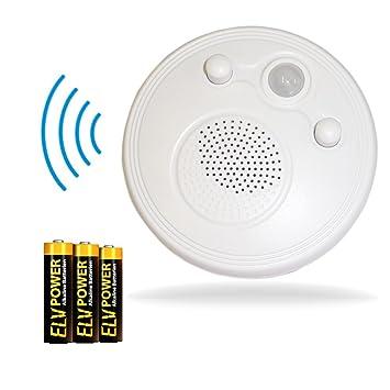 FM Radio mit Bewegungsmelder Badezimmerradio inkl.: Amazon.de ...