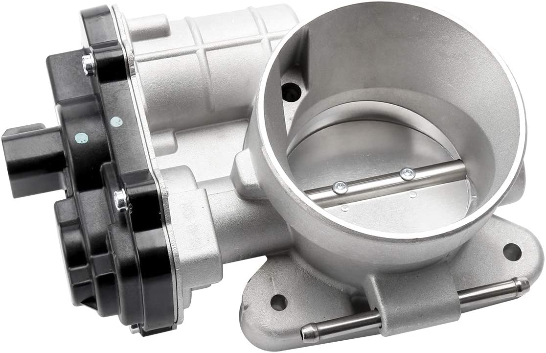 Throttle Body Assembly with Actuator - Compatible with Chevy, GMC, Cadillac, Buick & Hummer Vehicles - Silverado, Suburban, Tahoe, Envoy XL, Sierra, Yukon, Escalade - Replaces 12679525, 12570800