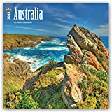 Australia 2018 12 x 12 Inch Monthly Square Wall Calendar, Scenic Nature Wilderness