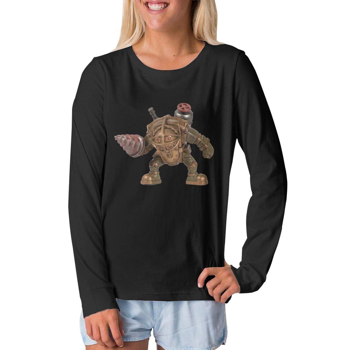 BilliePhillips Teenager Bioshock Fashion Long Sleeve Tshirts