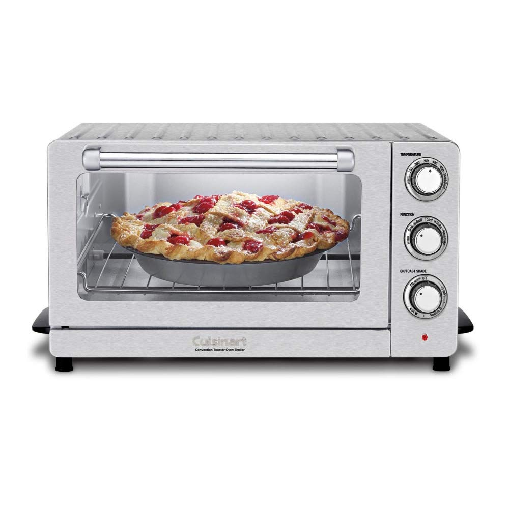 Cuisinart TOB-60NFR Toaster Oven Broiler with Convection Includes Flipper Tongs and 2 Cookbooks (Renewed) by Cuisinart (Image #6)