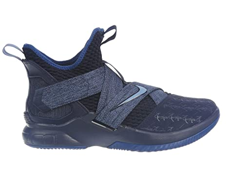 premium selection 27b13 367a0 ... low price nike lebron soldier xii mens fashion sneakers ao2609 4018  blackened blue work ac81c bf2c2