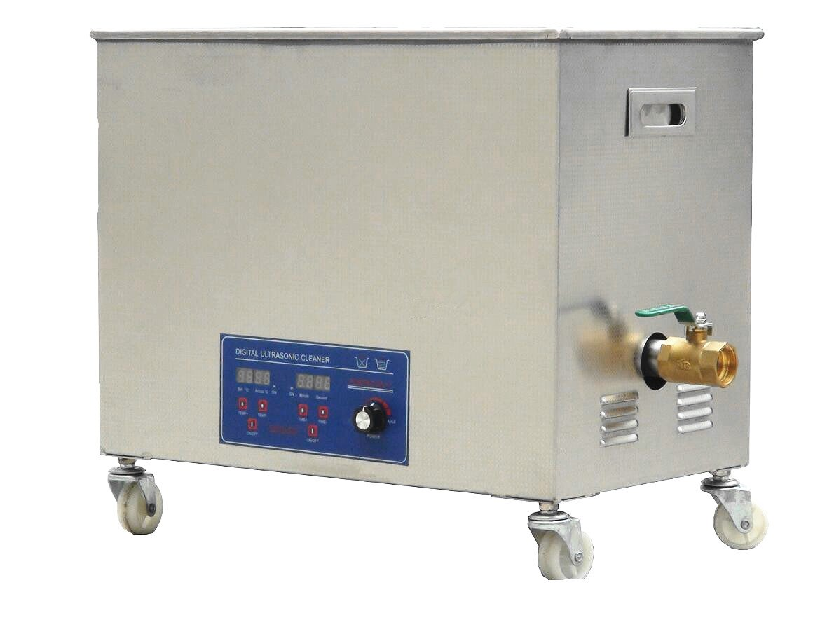 Industrial Commercial 38L Ultrasonic Cleaner Jewelry Cleaning Machine with Heater, Timer (40KHZ)
