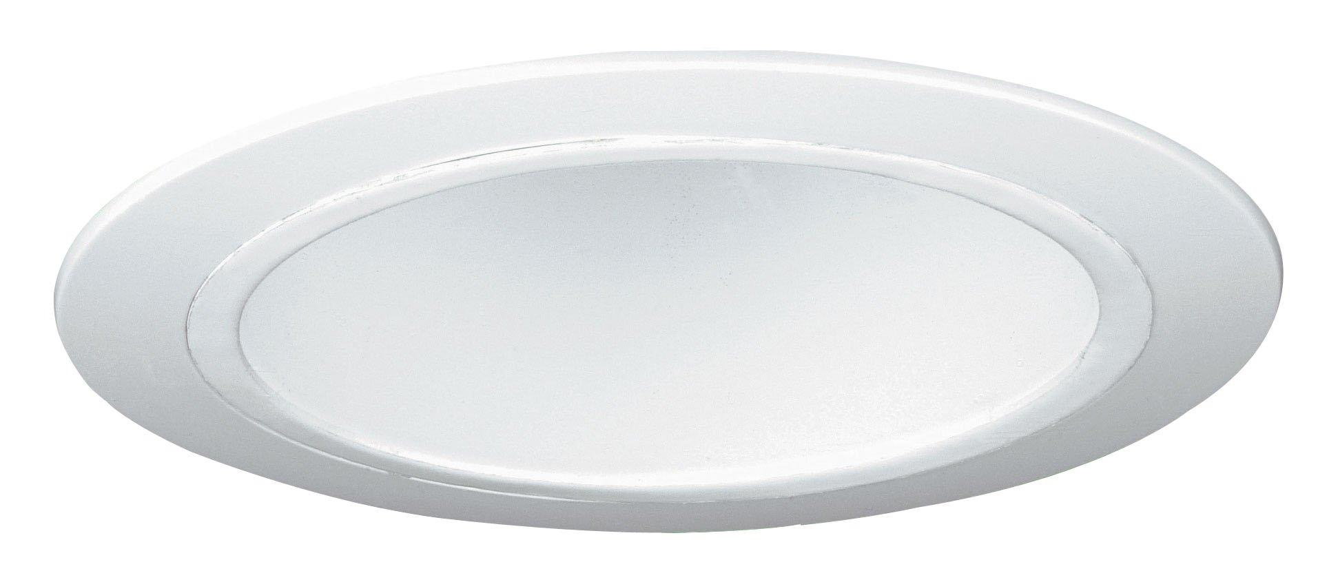 Yosemite Home Decor HE5698T 6-Inch White Horizontal Reflector Recessed Trim