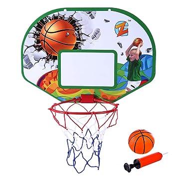 MRKE Basketballkorb Tür, Kinder Indoor Spielzeug Basketballkorb fürs ...