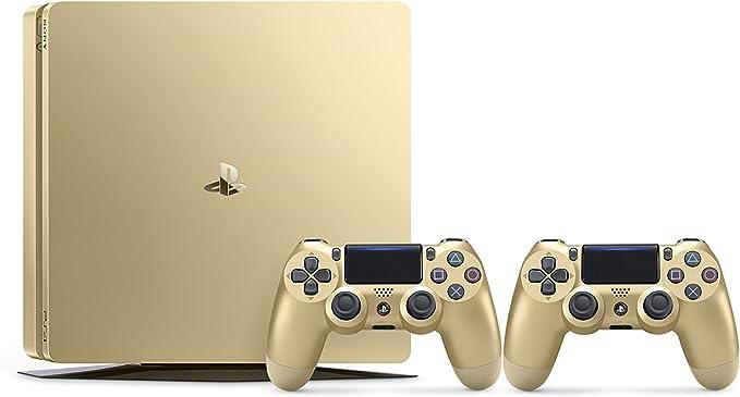 PlayStation 4 (PS4) - Consola De 500 GB, Color Dorado + 2 Mandos Inalámbricos DualShock 4: Amazon.es: Videojuegos