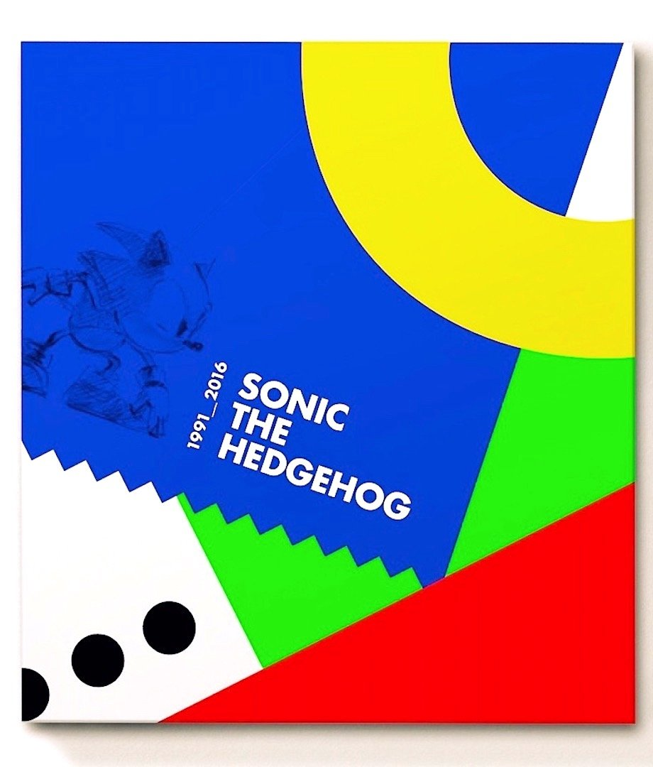 Official Sonic The Hedgehog 25th Anniversary Art Book Collector S Edition Cook And Becker Sega Arjan Terpstra 9789082457643 Amazon Com Books