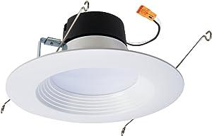 EATON Lighting LT560WH6930R Halo 5/6 LED Retrofit Baffle, 6