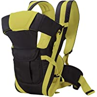 BRANDONN Baby 5 in 1 Carrier Bag with Different Positions Baby Carrier (Black/Parrot, Front Carry Facing Out with Belt)