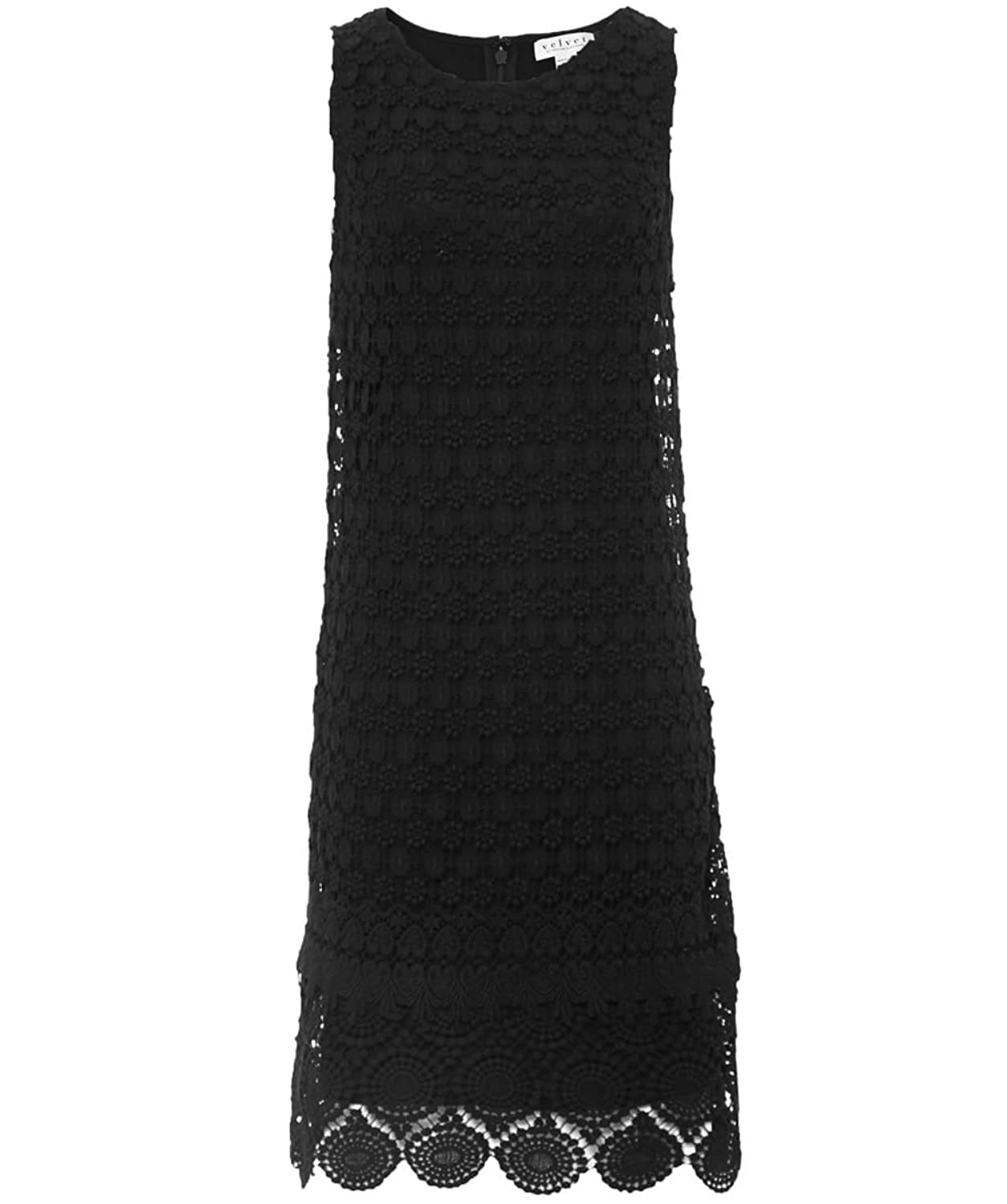 Velvet by Graham & Spencer Cosmo Lace Dress Black