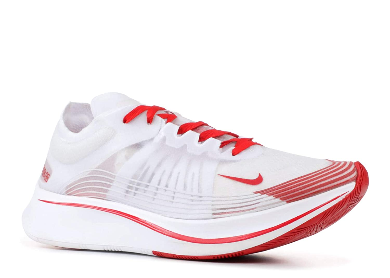 White, university red Nike Mens Zoom Fly SP Lightweight Trainer Running shoes