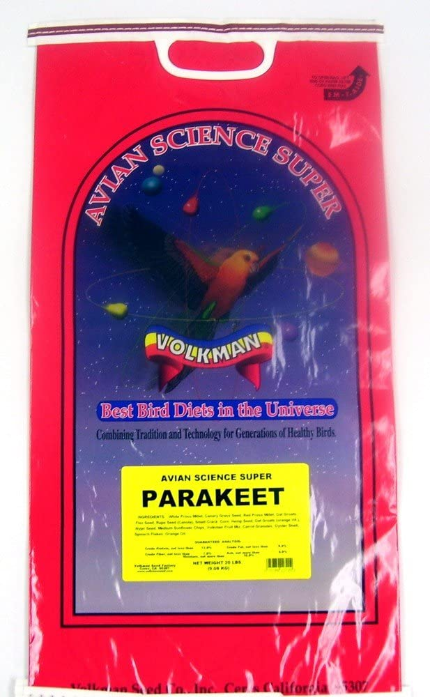 Volkman Seed Avian Science Super Parakeet 20lb