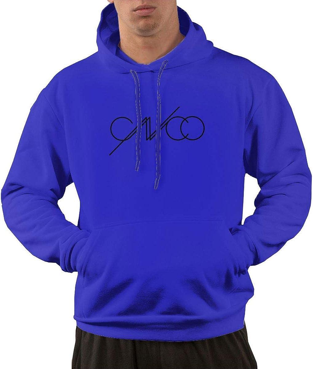 JUDSON Mans Fashion CNCO Logo Hoodies Gray