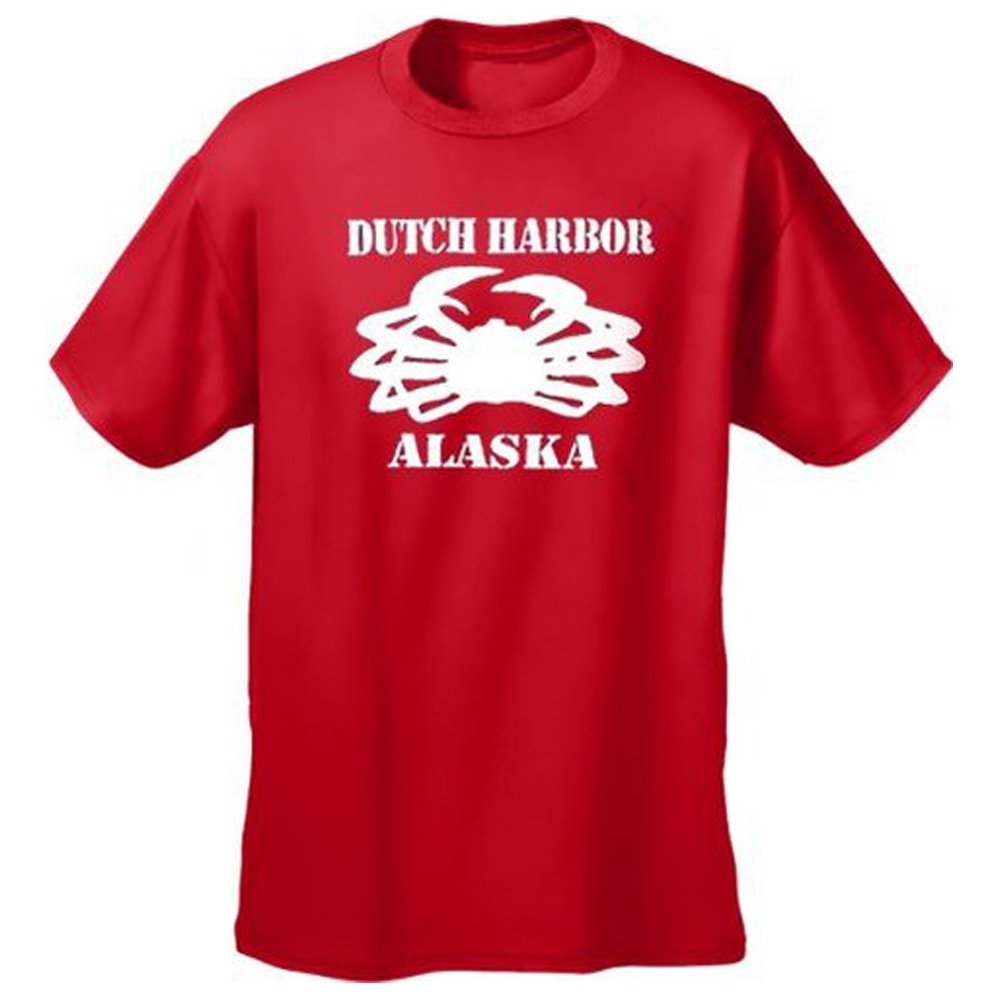 On the Crab. Deadliest Catch TV inspired mens t-shirt