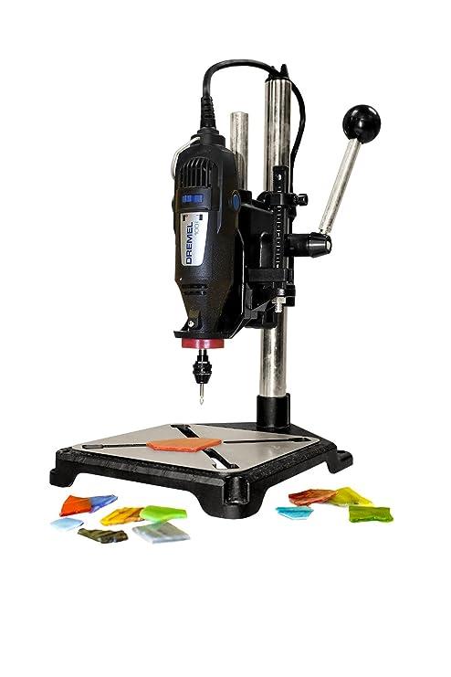 milescraft 1097 tool stand drill press for rotary tools power rh amazon com Portable Drill Press Craftsman Drill Press Manual