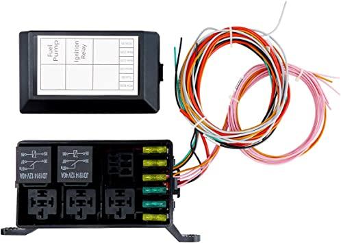amazon.com: swap relay and fuse box block kit,standalone wiring harnesses  ls1 6.0 5.3 4.8 lsx,waterproof light equipment,relay sockets and fuse  holders with wire terminals,designed for internal engine bay: automotive  amazon.com
