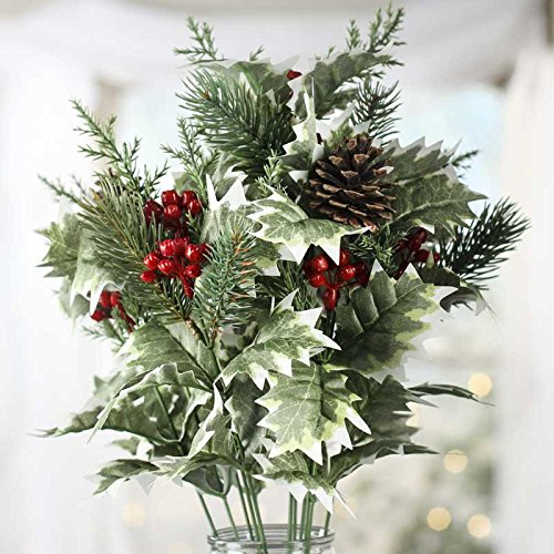 festive-artificial-variegated-holly-and-berry-pinecone-and-pine-bush-for-holiday-and-home-decor