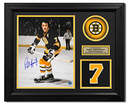 Image Unavailable. Image not available for. Color  Phil Esposito Boston  Bruins Autographed Autograph Retired Jersey Number ... 02778aad0