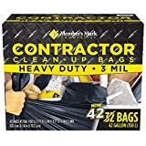 Member's Mark Commercial Contractor Clean-Up Bags (42 Gallon, 42 Count)
