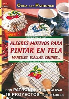 Alegres Motivos Para Pintar En Tela - Manteles, Toallas, Cojines.