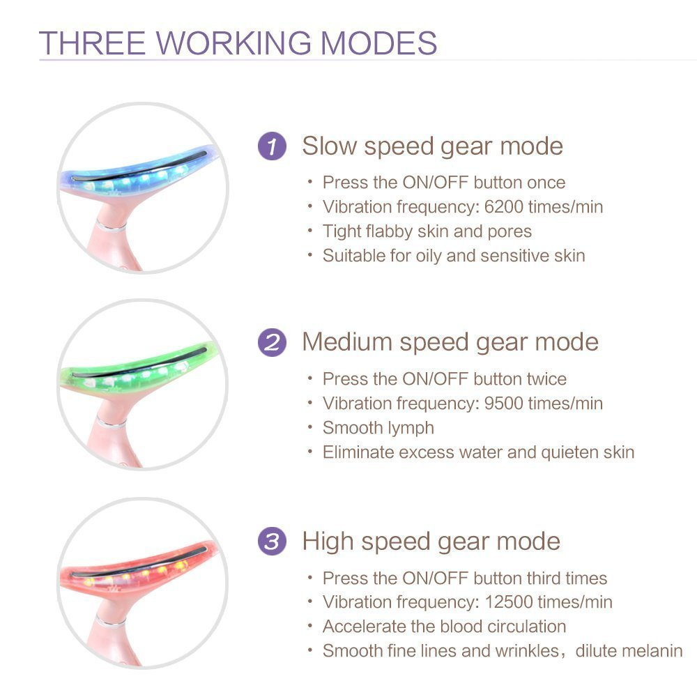 Amazon.com: MEILYLA Wrinkle Remove Machine Double Chin Reducer ...