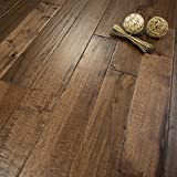 Hickory Character (Old West) Prefinished Solid Wood Flooring 5' x 3/4' Samples at Discount Prices by...
