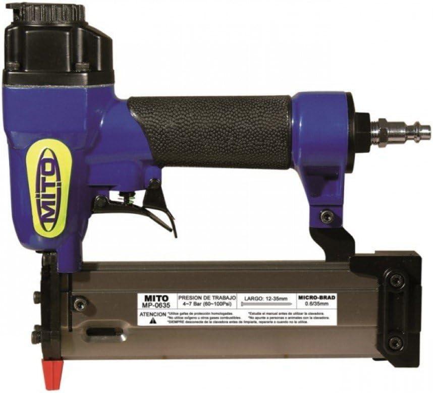 Clavadora neumática MITO MP-0635 (0.6 pins y mini brad)