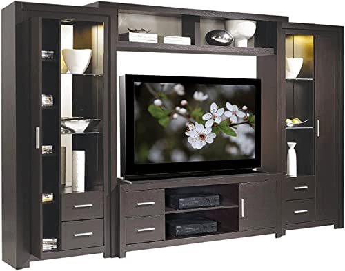 IcOn Furniture Collection Chrystie Entertainment Center