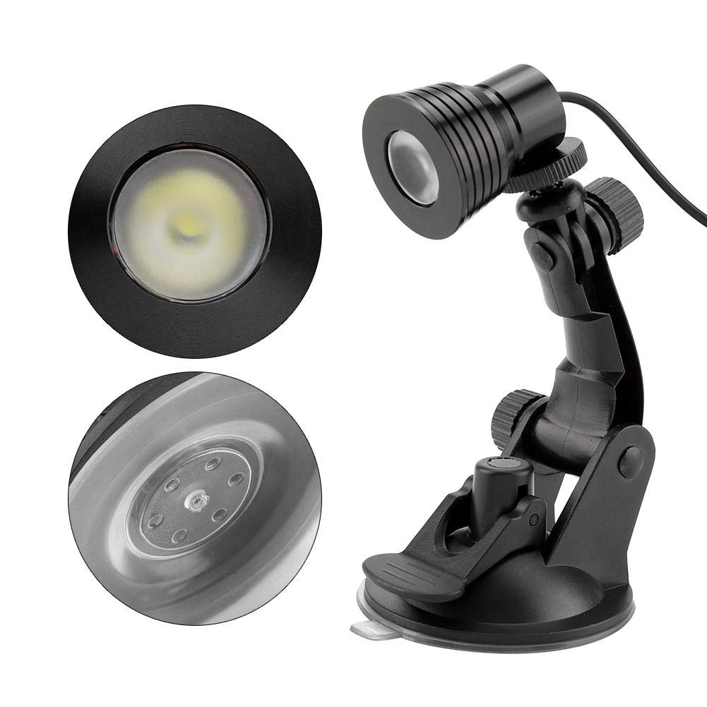Riuty Mini l/ámpara de Escritorio de 3W 5V Warm luz de Mesa Brillante LED Ajustable de Tres v/ías de Alta USB con lech/ón para Lectura de Estudio de habitaci/ón