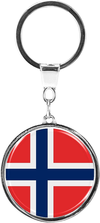 metALUm Llavero de Metal/Bandera la Noruega / 6610021S ...