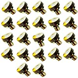 """Brass Misting Nozzles For Outdoor Cooling System 22 pcs ,0.016"""" Orifice (0.4 mm) 10/24 UNC"""