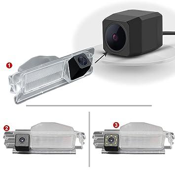 Kamera f/ür Nummerschildbeleuchtung Modell 1 Super Pro Kamera Dynavsal Einparkhilfe Kennzeichenbeleuchtung Farb R/ückfahrkamera f/ür Dacia Duster Sandero Stepway II 2