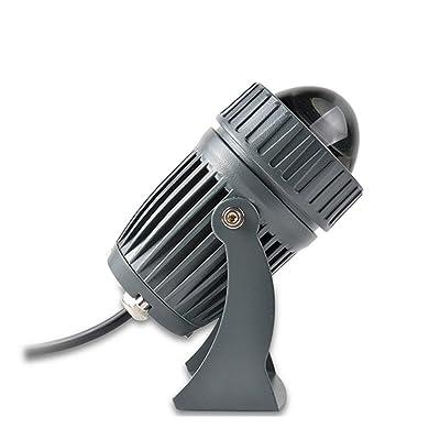 GUO - Bout de projecteurs à LED lumineux Convertisseur de rayonnages ultra-longue distance coloré pour toit de l'hôtel Rétro-éclairage Villa Colonne romaine pour insérer la lumiè