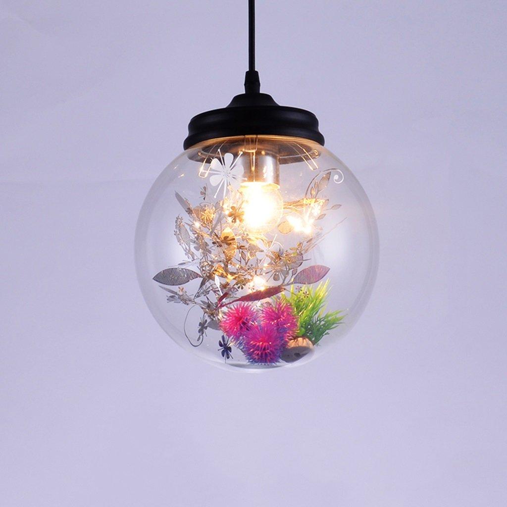 Modern Deckenlampe Nordic Modern Blaumengras Glas Kronleuchter Persönlichkeit Kreative Wohnzimmer Esszimmer Schlafzimmer Cafe Bekleidungsgeschäft Flower Room Kronleuchter Balkon Schlafzimmer